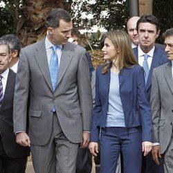 Los Príncipes Felipe y Letizia inauguran el Palmetum de Tenerife