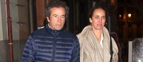 Blanca Suelves y Joannes Osorio en el estreno de la ópera 'Brokeback Mountain'