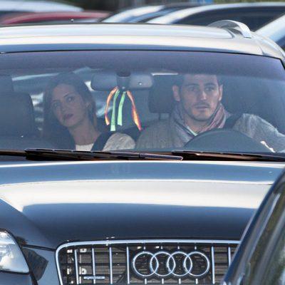 Iker Casillas y Sara Carbonero en una revisión pediátrica con su hijo Martín