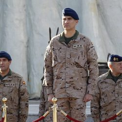 El Príncipe de Asturias cumple 46 entre militares