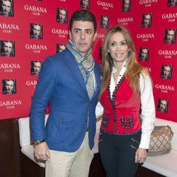 Cristina Sánchez y Alejandro Da Silva en la presentación del disco de Juan Peña 'Infinito'