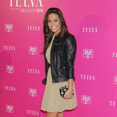 Lara Álvarez en los Premios Telva de Belleza 2014