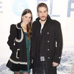 Alberto Ammann y Clara Méndez-Leite en el estreno de la serie 'El Príncipe'