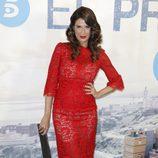 Elia Galera en el estreno de la serie 'El Príncipe'