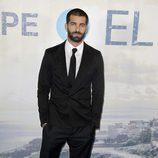 Rubén Cortada en el estreno de la serie 'El Príncipe'