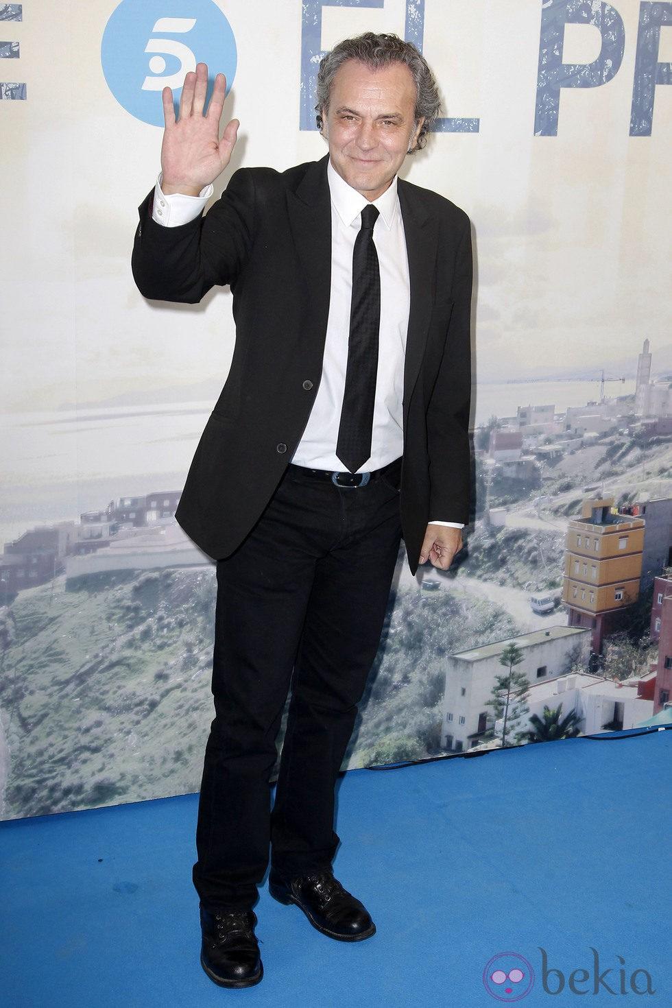 José Coronado en el estreno de la serie 'El Príncipe'