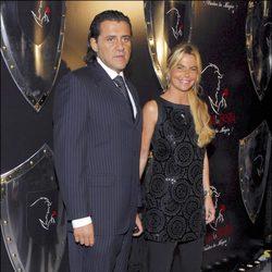 Roberto Corbo y Leticia Sabater en el estreno de 'La bella y la bestia'