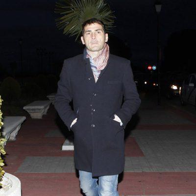Iker Casillas en el tanatorio de Luis Aragonés