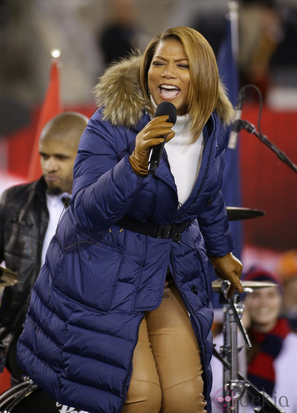 Queen Latifah en la Super Bowl 2014