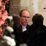 Alberto de Mónaco en la boda de Andrea Casiraghi y Tatiana Santo Domingo