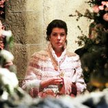 Carolina de Mónaco en la boda de Andrea Casiraghi y Tatiana Santo Domingo