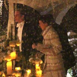 Carolina de Mónaco y Andrea Casiraghi en su boda con Tatiana Santo Domingo