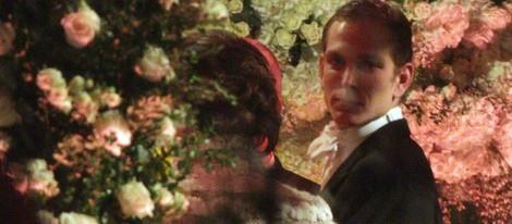 Andrea Casiraghi en su boda religiosa con Tatiana Santo Domingo