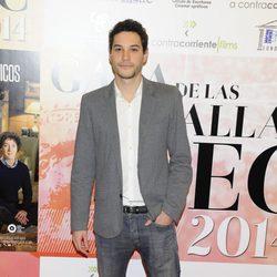 Álex Martínez en la entrega de las Medallas del CEC 2013