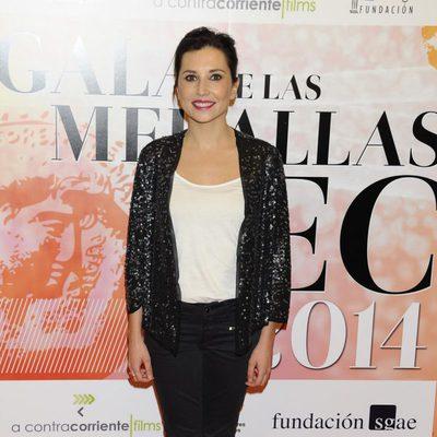 Marian Álvarez en la entrega de las Medallas del CEC 2013