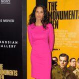 Padma Lakshmi en el estreno de 'Monuments Men' en Nueva York
