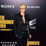 Ellen Barkin en el estreno de 'Monuments Men' en Nueva York