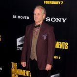 Bill Murray en el estreno de 'Monuments Men' en Nueva York