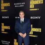 George Clooney en el estreno de 'Monuments Men' en Nueva York