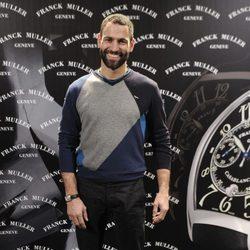 Darío Barrio en la inauguración de la primera tienda de Franck Muller en Madrid