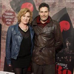 Ana Wagener y Roberto Enríquez en el estreno de 'El Nombre de la Rosa'