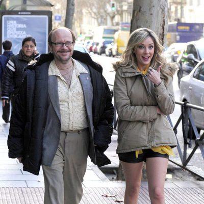 Santiago Segura y Anna Simon en el rodaje de 'Torrente 5'