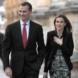 Los Príncipes Felipe y Letizia de visita oficial en Granada