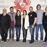 Los directores, el productor y el reparto de 'Musarañas'