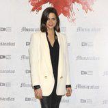 Macarena Gómez en la presentación del fin del rodaje de 'Musarañas'