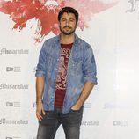 Hugo Silva en la presentación del fin del rodaje de 'Musarañas'