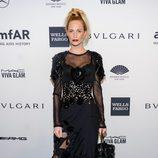 Poppy Delevingne en la gala amfAR 2014 de Nueva York