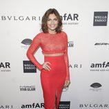 Alyssa Miller en la gala amfAR 2014 de Nueva York