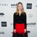 Chelsea Clinton en la gala amfAR 2014 de Nueva York