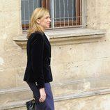 La Infanta Cristina entra a declarar