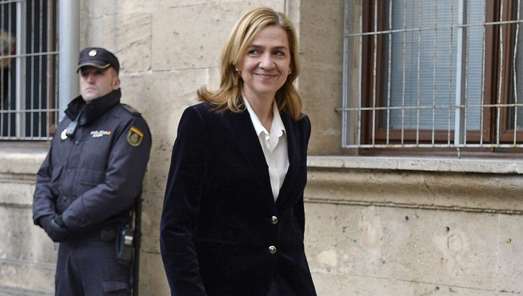 La Infanta Cristina declara como imputada