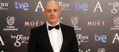 Roberto Álamo en los Premios Goya 2014