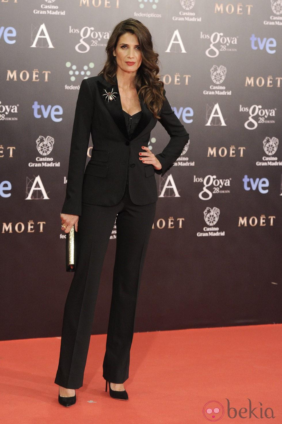Elia Galera en los Premios Goya 2014