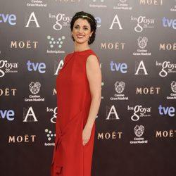 Ruth Gabriel en la alfombra roja de los Goya 2014