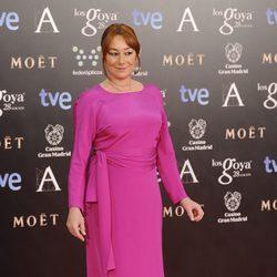 Gracia Querejeta en la alfombra roja de los Premios Goya 2014