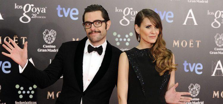 Dani Mateo y Elena Ballesteros en los Goya 2014