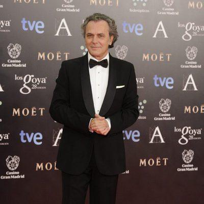 José Coronado en la alfombra roja de los Goya 2014