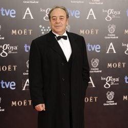 Tito Valverde en la alfombra roja de los Goya 2014