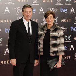 Emilio Aragón y Aruca en los Goya 2014