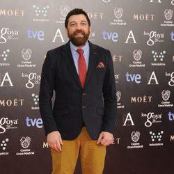 Hovik Keuchkerian en la alfombra roja de los Goya 2014