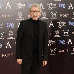 José Sacristán en la alfombra roja de los Goya 2014