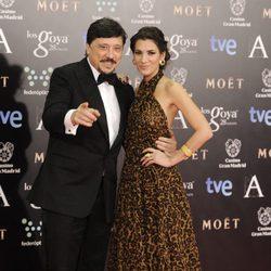 Carlos Bardem y Cecilia Gessa en los Premios Goya 2014