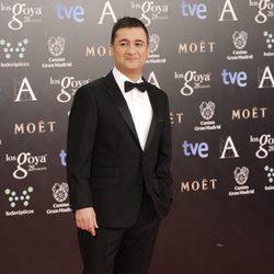 Secun de la Rosa en los Premios Goya 2014
