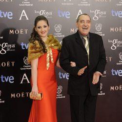 Enrique Villén en la alfombra roja de los Goya 2014