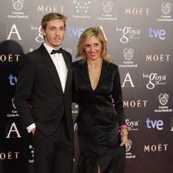 Ramón Langa y Marta Robles en los Goya 2014