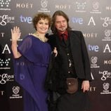 Assumpta Serna y Scott Cleverdon en los Goya 2014